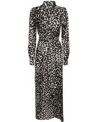 Tom Ford シルクサテンドレス - ブラック