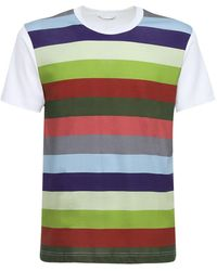 Comme des Garçons - コットンジャージーtシャツ - Lyst