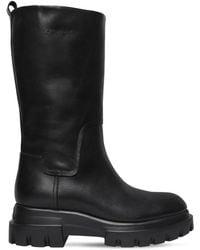 Agl Attilio Giusti Leombruni - 40mm Leather Midi Boots - Lyst