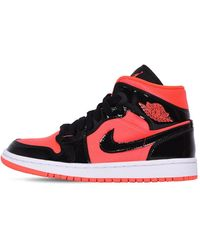 "Nike Sneakers ""Wmns Air Jordan 1 Mid"" - Rosso"