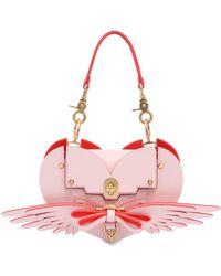 Niels Peeraer - Wings Heart Leather Shoulder Bag - Lyst