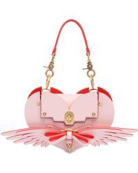 Niels Peeraer Wings Heart shoulder bag - Rose