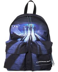 Undercover Printed Techno Canvas Backpack - Blue