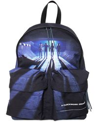 Undercover - Printed Techno Canvas Backpack - Lyst