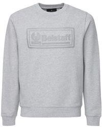 Belstaff Oulton コットンスウェットシャツ - グレー