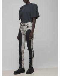 Y. Project オーバーサイズジャージーtシャツ - グレー