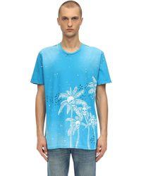 DOMREBEL - Palm Skull コットンジャージーtシャツ - Lyst