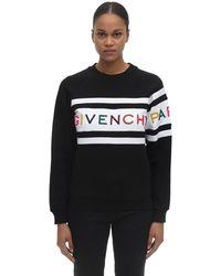 Givenchy Jumper With Rainbow Logo - Black