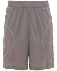 A_COLD_WALL* Stretch-technostoff-shorts - Grau