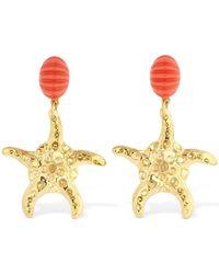 "RIXO London Ohrringe ""starfish"" - Mettallic"