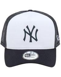 KTZ New York Yankees トラッカーキャップ - ブルー