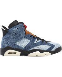 """Nike Sneakers """"air Jordan 6 Retro"""" - Blau"""
