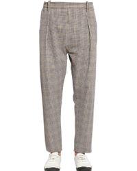 Christophe Lemaire - 17.5cm Cotton Seersucker Pants - Lyst