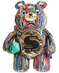 Sprayground Spoogi Teddy Bear Backpack - マルチカラー