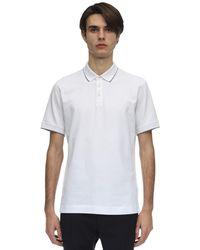 Z Zegna ストレッチコットンピケポロシャツ - ホワイト