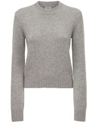 AG Jeans Cashmere Round Neck Jumper - Grey