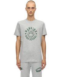 Nike Stranger Things Cotton Jersey T-shirt - Grey