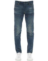 """G-Star RAW Enge Jeans Aus Stretch-denim """"5620 3d"""" - Blau"""