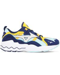 "Mizuno Sneakers ""wave Rider 1s"" - Bleu"