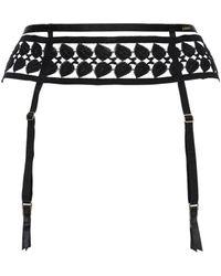 Bluebella Alix Adjustable Suspender Belt - Черный