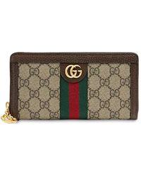 "Gucci Brieftasche ""ophidia Gg Supreme"" - Mehrfarbig"