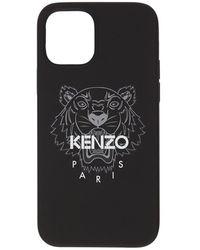 KENZO Tiger Iphone 12 Pro Max ケース - ブラック