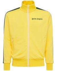 Palm Angels Спортивная Куртка С Принтом - Желтый