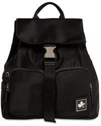 DSquared² Рюкзак Из Нейлона С Логотипом - Черный