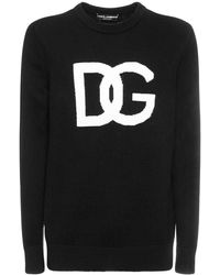 Dolce & Gabbana ウールニットセーター - ブラック