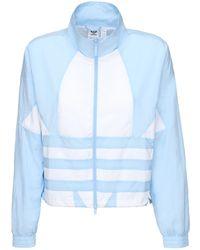adidas Originals Logo Tech Track Jacket - Blue