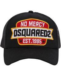 DSquared² - No Mercy Cotton & Mesh Trucker Hat - Lyst