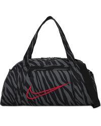 Nike Bedruckte Sporttasche - Schwarz