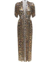 Paco Rabanne - Leopard メタルメッシュドレス - Lyst