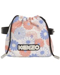 KENZO Floral Jacquard Belt Bag - Multicolour