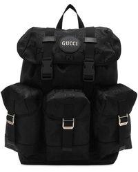 Gucci Рюкзак Из Материала Econyl - Черный