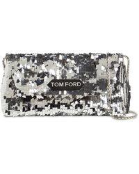 Tom Ford Label スパンコールショルダーバッグ - メタリック