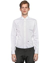 DSquared² コットンポプリンシャツ - ホワイト