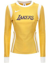 Nike - Топ Из Нейлона Lakers Nrg Ir - Lyst