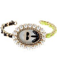 Bijoux De Famille - Karl Cameo Rigid Bracelet - Lyst
