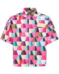 """Formy Studio Techno-hemd Mit Logo """"teti"""" - Pink"""