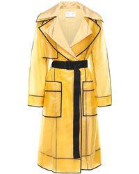 PROENZA SCHOULER WHITE LABEL Пальто-дождевик С Поясом - Желтый