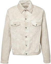 Maison Margiela - Куртка Из Мытого Деним - Lyst