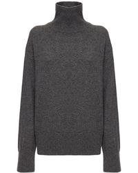 AG Jeans ハイネックカシミアセーター - グレー