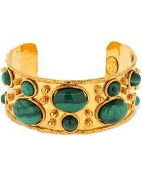 Sylvia Toledano Manchette Byzantine Cuff Bracelet - イエロー