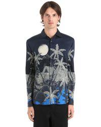 Etro   Hawaiian Fluid Cotton Shirting Shirt   Lyst