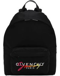 Givenchy Urban ナイロンバックパック - ブラック