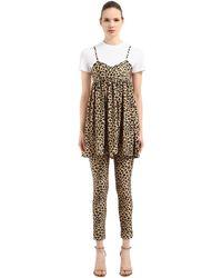 Vivetta T-shirt Und Kleid Mit Druck - Mehrfarbig