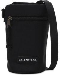 Balenciaga Explorer ナイロンクロスボディバッグ - ブラック