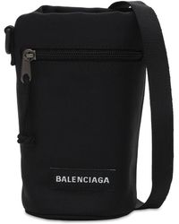 "Balenciaga Borsa ""explorer"" In Nylon - Nero"