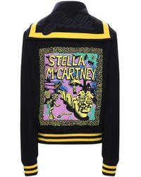 Stella McCartney Куртка Из Шерсти С Логотипом - Черный
